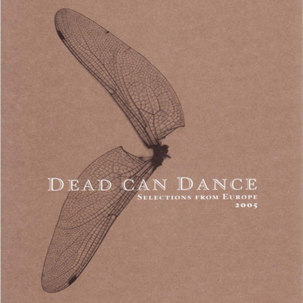 Dead Can Dance - Selections From Europe 2005 CD (album) cover
