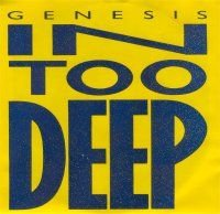 Genesis - In Too Deep (single) CD (album) cover