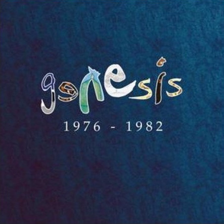 GENESIS - Genesis 1976 - 1982 CD album cover