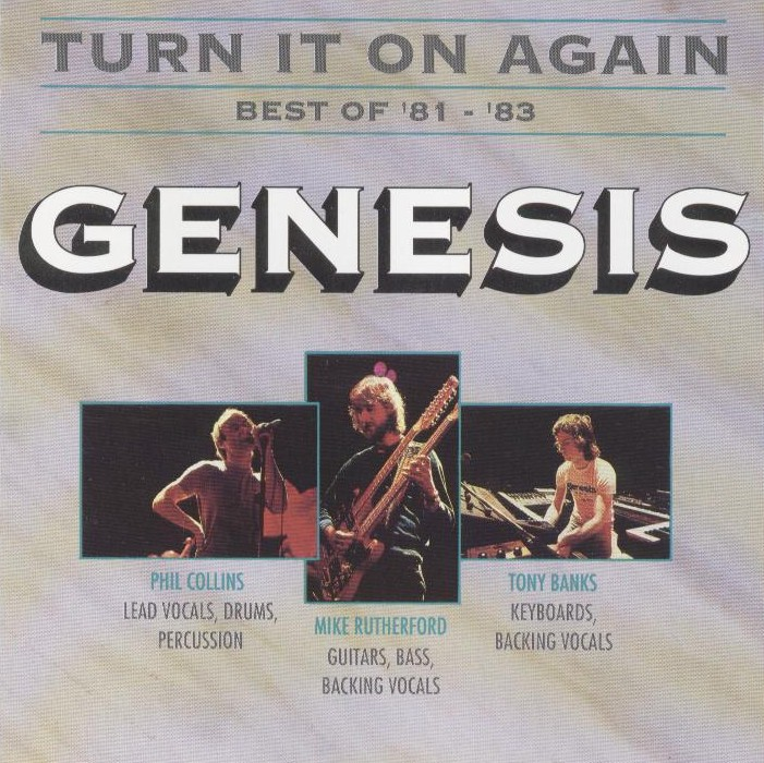 Genesis - Turn It On Again - Best Of 81-83 CD (album) cover