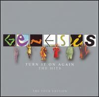 Genesis - Turn It On Again The Hits -The Tour Edition CD (album) cover