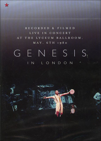 Genesis - In London DVD (album) cover