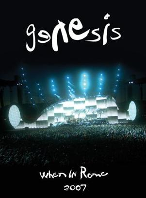 Genesis - When In Rome DVD (album) cover