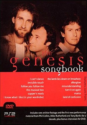 Genesis - The Genesis Songbook DVD (album) cover