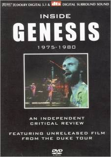 Genesis - Inside Genesis 1975-1980 DVD (album) cover
