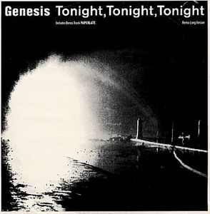 Genesis - Tonight, Tonight, Tonight 12'' CD (album) cover