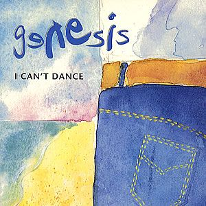 Genesis - I Can't Dance 7'' CD (album) cover