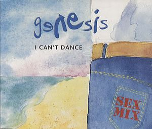 Genesis - I Can't Dance 5'' Cd Single CD (album) cover
