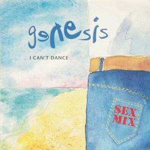 Genesis - I Can't Dance 12'' CD (album) cover