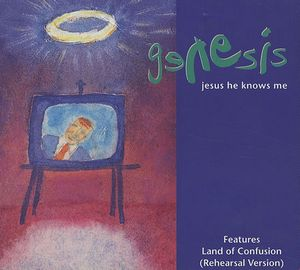 Genesis - Jesus He Knows Me 5'' Cd Single CD (album) cover