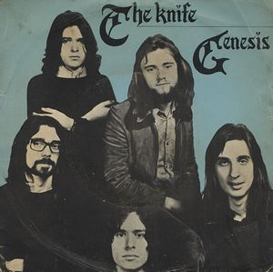 Genesis - The Knife CD (album) cover