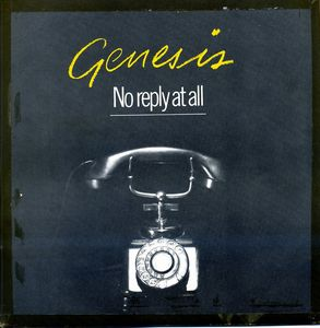 Genesis - No Reply At All CD (album) cover