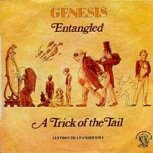 Genesis - Entangled CD (album) cover
