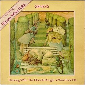 Genesis - I Know What I Like (in Your Wardrobe) CD (album) cover