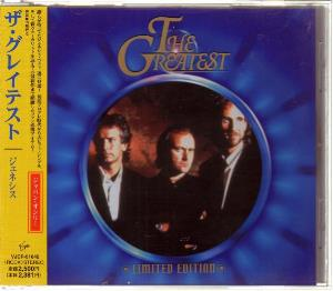 Genesis - The Greatest CD (album) cover