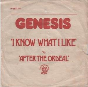Genesis - I Know What I Like (in Your Wardrobe) / After The Ordeal CD (album) cover