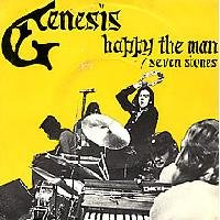 Genesis - Happy The Man CD (album) cover