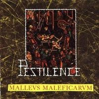 Pestilence - Malleus Maleficarum CD (album) cover