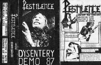 Pestilence - Dysentery (Demo) CD (album) cover