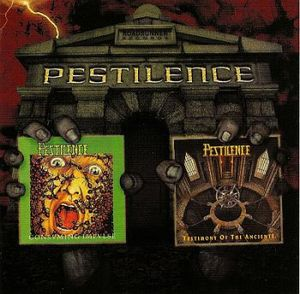 Pestilence - Two From The Vault CD (album) cover