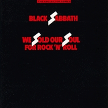 Black Sabbath - We Sold Our Soul For Rock And Roll CD (album) cover