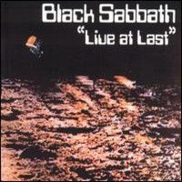 Black Sabbath - Live At Last CD (album) cover