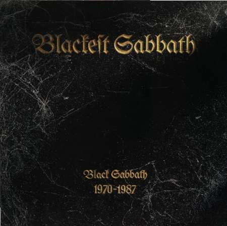 Black Sabbath - Blackest Sabbath CD (album) cover