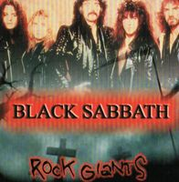 Black Sabbath - Rock Giants CD (album) cover