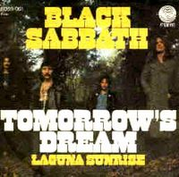 Black Sabbath - Tomorrow's Dream CD (album) cover