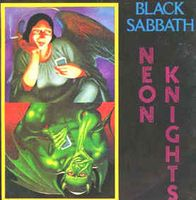 Black Sabbath - Neon Knights CD (album) cover
