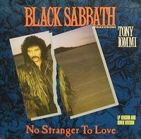 Black Sabbath - No Stranger To Love CD (album) cover