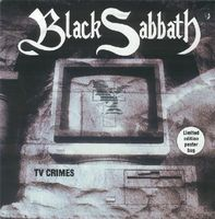 Black Sabbath - Tv Crimes CD (album) cover