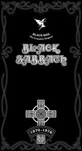 Black Sabbath - Black Box (the Complete Original Black Sabbath 1970-1978) CD (album) cover