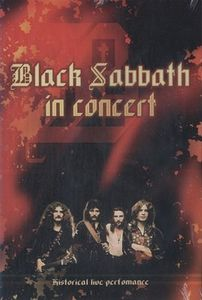 Black Sabbath - In Concert DVD (album) cover