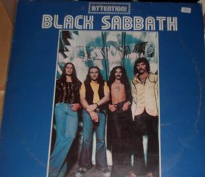 Black Sabbath - Attention! Black Sabbath Volume 2 CD (album) cover