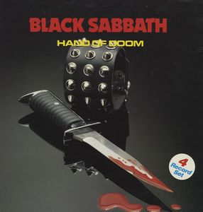 Black Sabbath - Hand Of Doom CD (album) cover