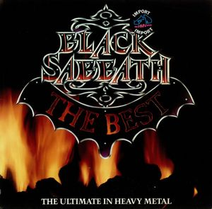 Black Sabbath - The Best: The Ultimate In Heavy Metal CD (album) cover