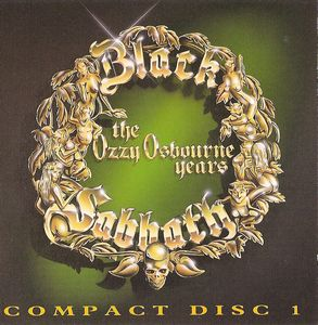 Black Sabbath - The Ozzy Osbourne Years CD (album) cover