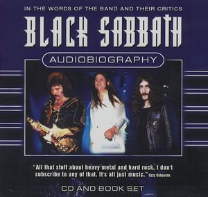Black Sabbath - Audiobiography CD (album) cover