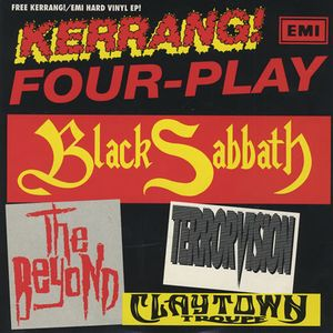Black Sabbath - Kerrang! Four-play CD (album) cover