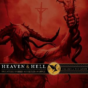 Black Sabbath - Heaven & Hell: The Devil You Know CD (album) cover