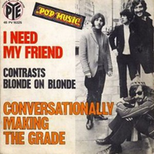 Blonde On Blonde - I Need My Friends/Conversionally Making The Grade CD (album) cover