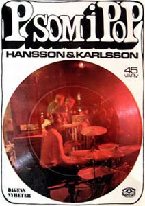 Hansson & Karlsson P Som I Pop CD album cover