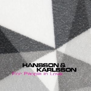 Hansson & Karlsson - For People In Love CD (album) cover