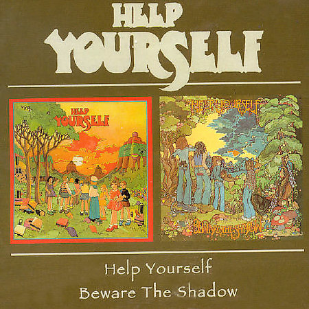 Help Yourself - Help Yourself/Beware The Shadow CD (album) cover