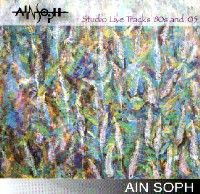 Ain Soph - Studio Live Tracks '80s And '05 CD (album) cover