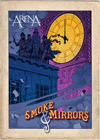 ARENA - Smoke & Mirrors CD (album) cover