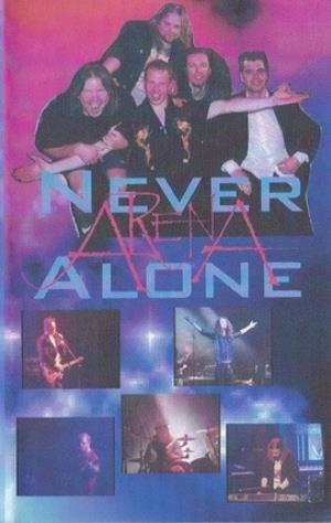 ARENA - Never Alone CD album cover