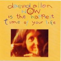 Daevid Allen - Now Is The Happiest Time Of Your Life CD (album) cover
