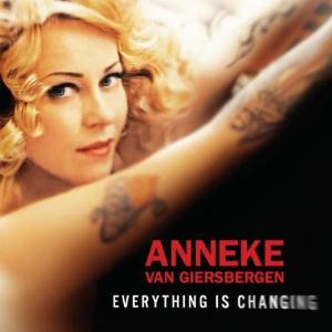Agua De Annique - Everything Is Changing CD (album) cover